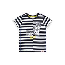 T-shirt Bent dark blue stripe
