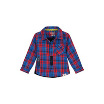 blouse Bing check dessin