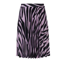 rok plissee zebra