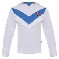 trui hoodie nice cool white
