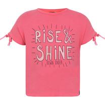 T-shirt rise & shine pink