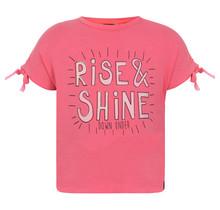 Beebielove T-shirt rise & shine pink