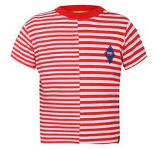 Beebielove T-shirt stripe red