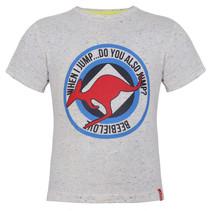 T-shirt when jump white