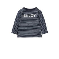 longsleeve enjoy pinstripe blue