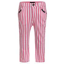 broek stripe pink
