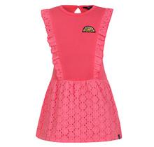 Beebielove jurk ruffle pink
