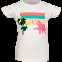 T-shirt Olif ecru