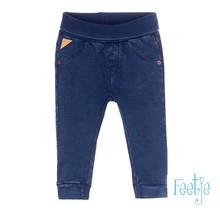 Feetje broekje knitted denim slim fit blue denim