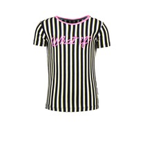 T-shirt yds with artwork 4 color stripe
