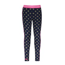 legging ao dots and pink glo piping on sideseam mili dots