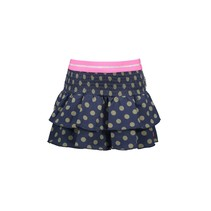 rok ao dots with smocked part and layers mili dots