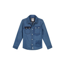 blouse Anthony mid blue chambray
