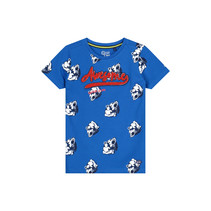 T-shirt Adian cobalt animal