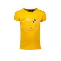 T-shirt Kamsi happy print warm yellow