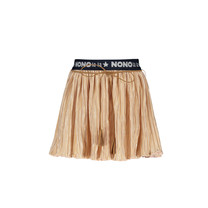 rok Nikky pleated branded waisted soft copper