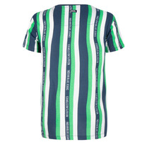 T-shirt no guts stripe island green