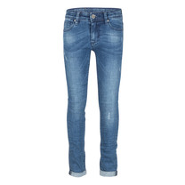 spijkerbroek blue brad super skinny fit used medium denim