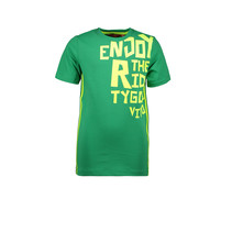 T-shirt enjoy the ride green