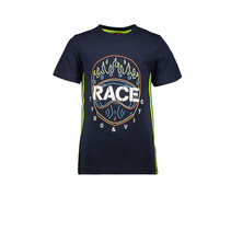 T-shirt race navy