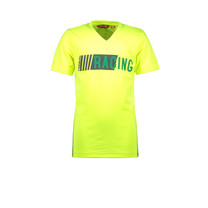 T-shirt racing safety yellow