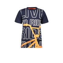 T-shirt BMX navy