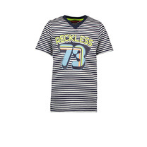 T-shirt stripe reckless navy