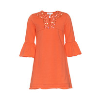 jurk driekwart mouw 2041