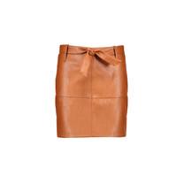 rok Nisha imi leather with belt cognac