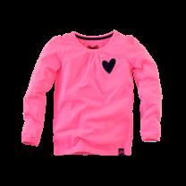longsleeve Judith neon pink