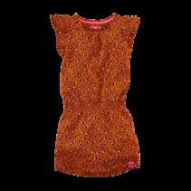 jurk Lyla cognac leopard