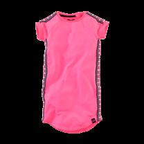jurk Dani neon pink
