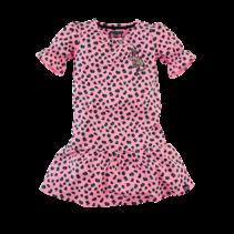 jurk Milly pink panter leopard