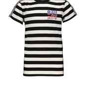 Bellaire T-shirt Kars allover stripe jet black