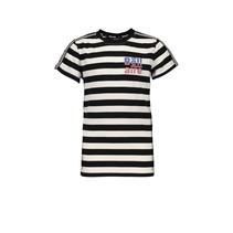 T-shirt Kars allover stripe jet black