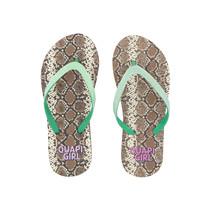 slippers Anika snake aop