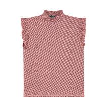 T-shirt Fenna soft peach retro