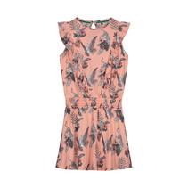 jurk Faja soft peach flower