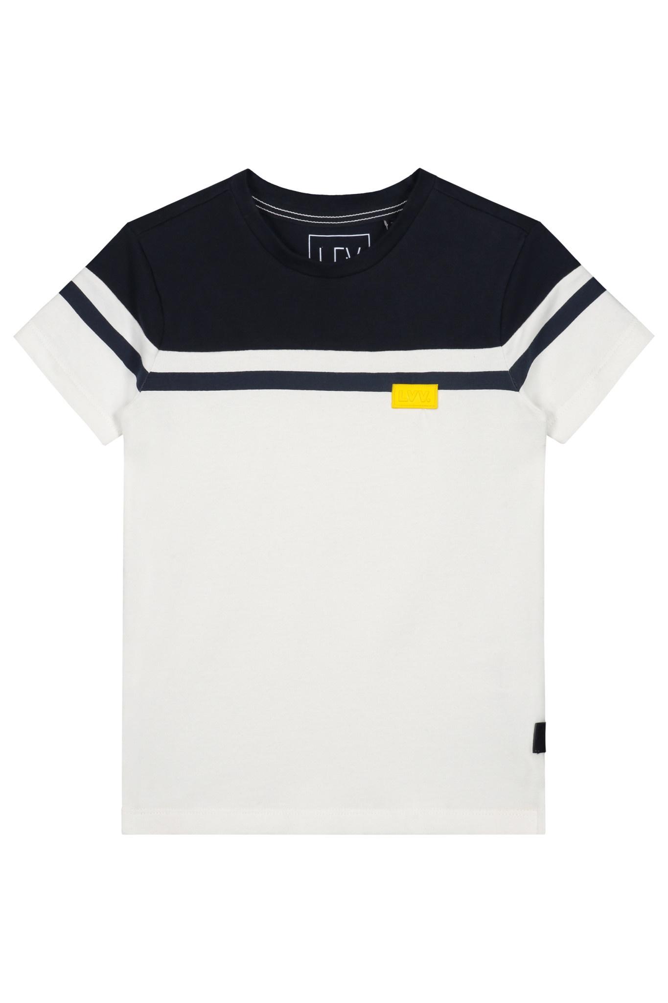 Levv Levv T-shirt Geno white