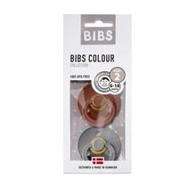 Bibs spenen duo pack rust/smoke 2 (6-18mnd)