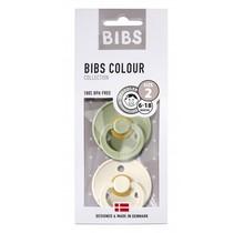 Bibs spenen duo pack sage/ivory 2 (6-18mnd)