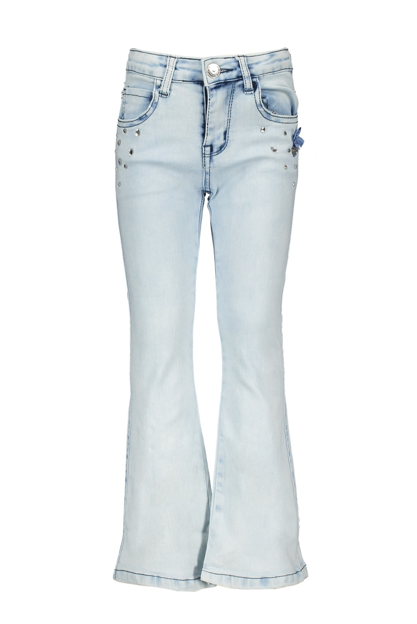 Le Chic Le Chic spijkerbroek bleached flared jeans