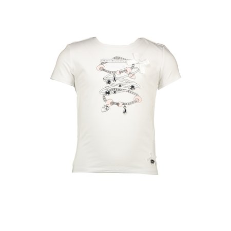 Le Chic Le Chic T-shirt bracelets white