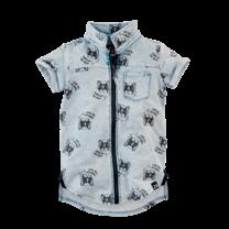 blouse Baas indigo