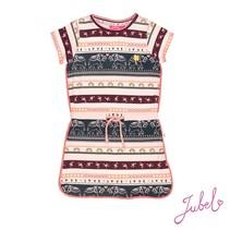 jurk streep roze - Stargazer