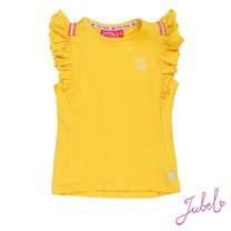 T-shirt ruches geel - Stargazer