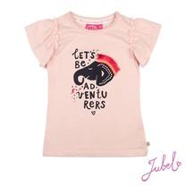 T-shirt let's be adventurers roze - Stargazer