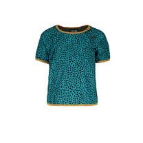 T-shirt ao shiny jersey turquoise