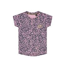 T-shirt Bliss light pink leopard