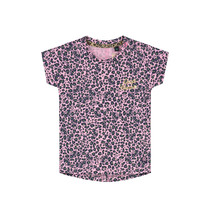 T-shirt Bliss light pink leopard